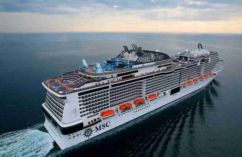Fast-growing MSC Cruises has added several new activity-packed megaships in recent years including MSC Meraviglia. (Photo courtesy of MSC Cruises).