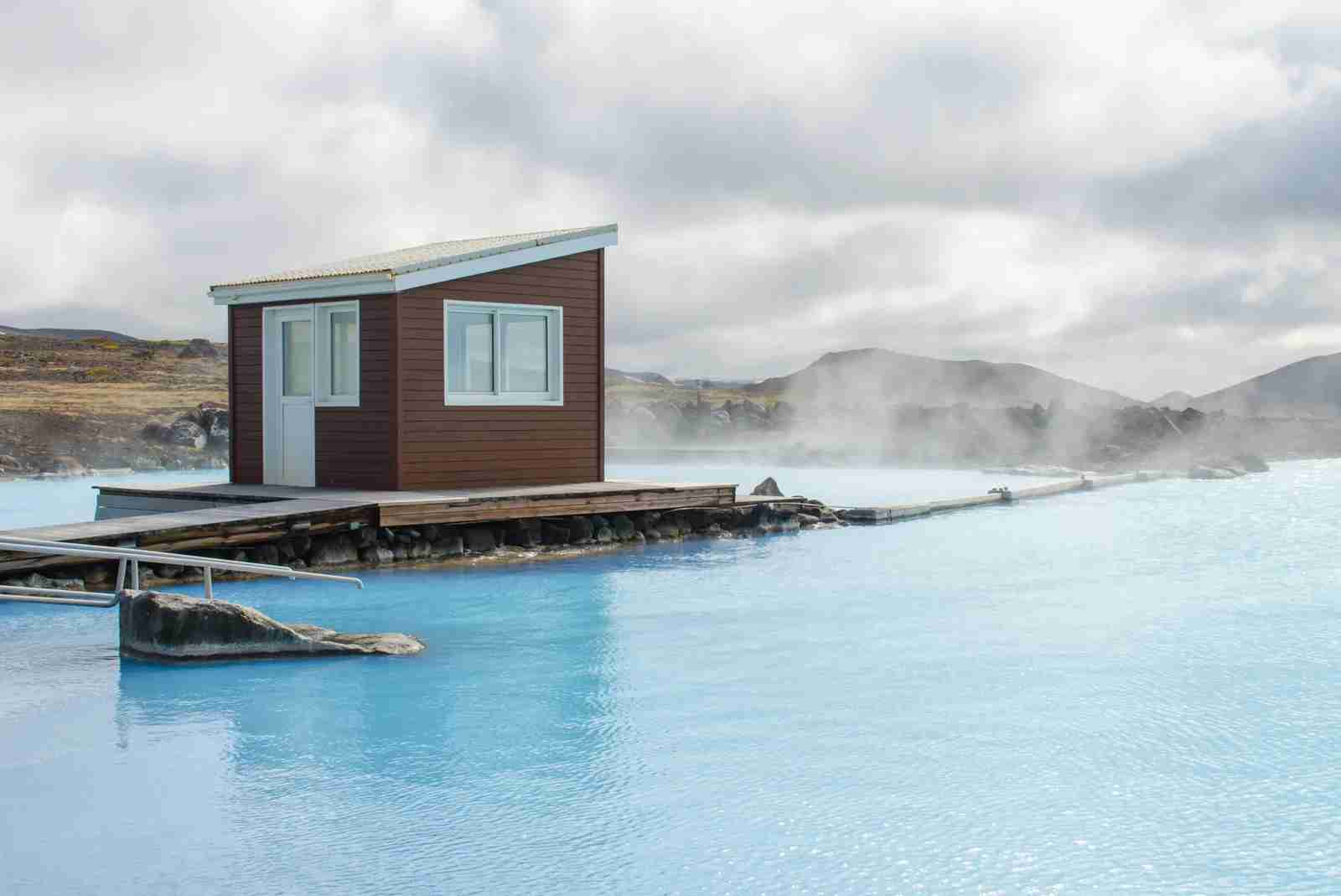 Myvatn Nature Baths. (Photo by Sylvia_Adams/Getty Images)