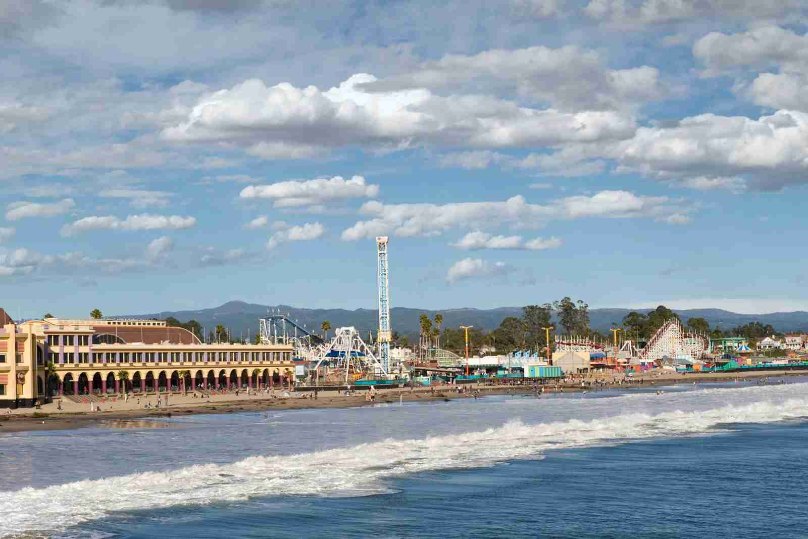 The Santa Cruz Boardwalk. (Photo by ivanastar/Getty Images)