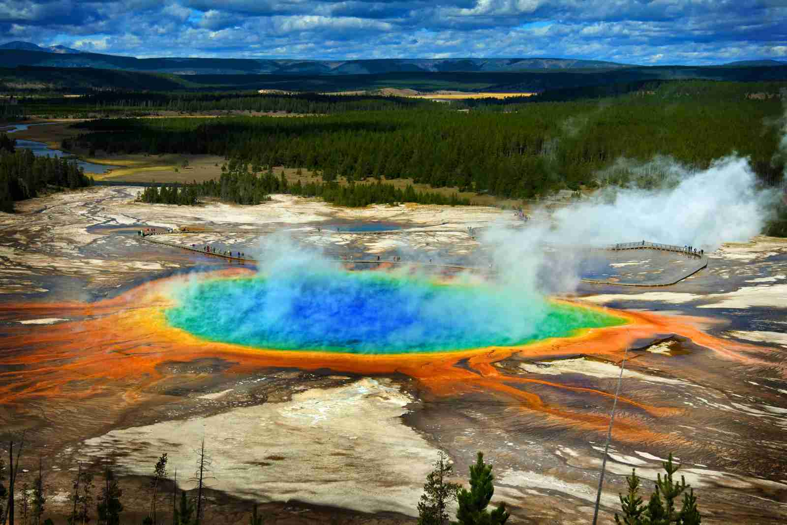 Yellowstone National Park. (Photo by Lane Erickson/Adobe Stock)