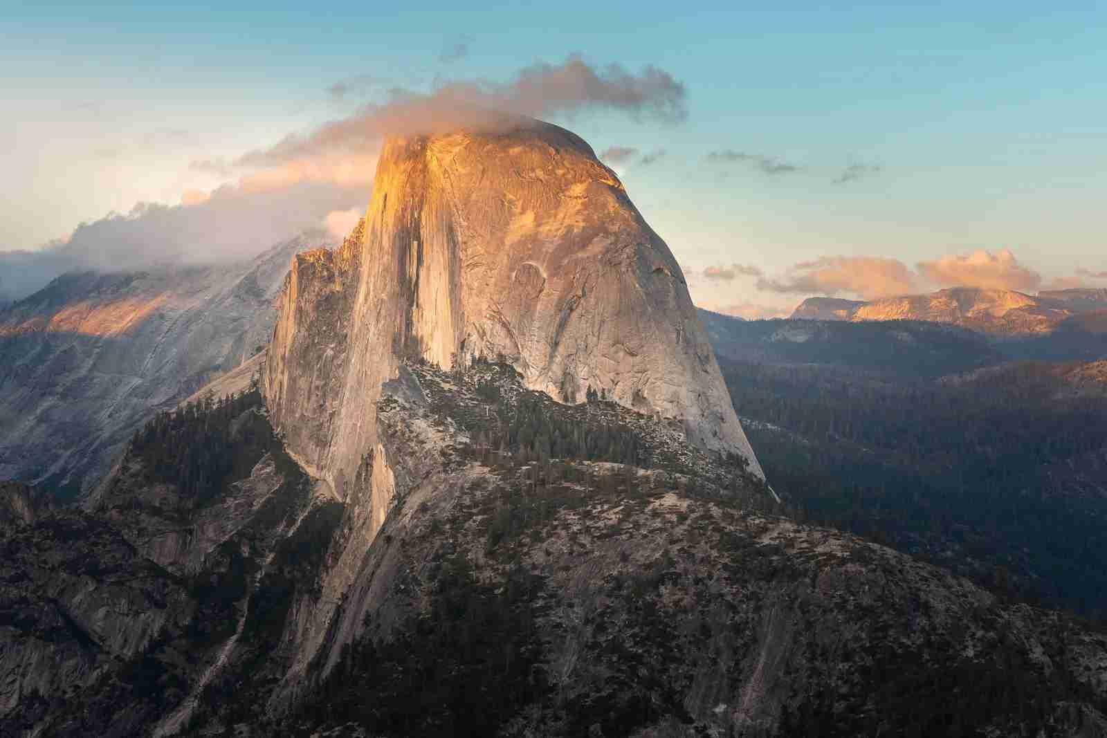 Half Dome at Yosemite National Park. (Photo by Noradoa/Adobe Stock)