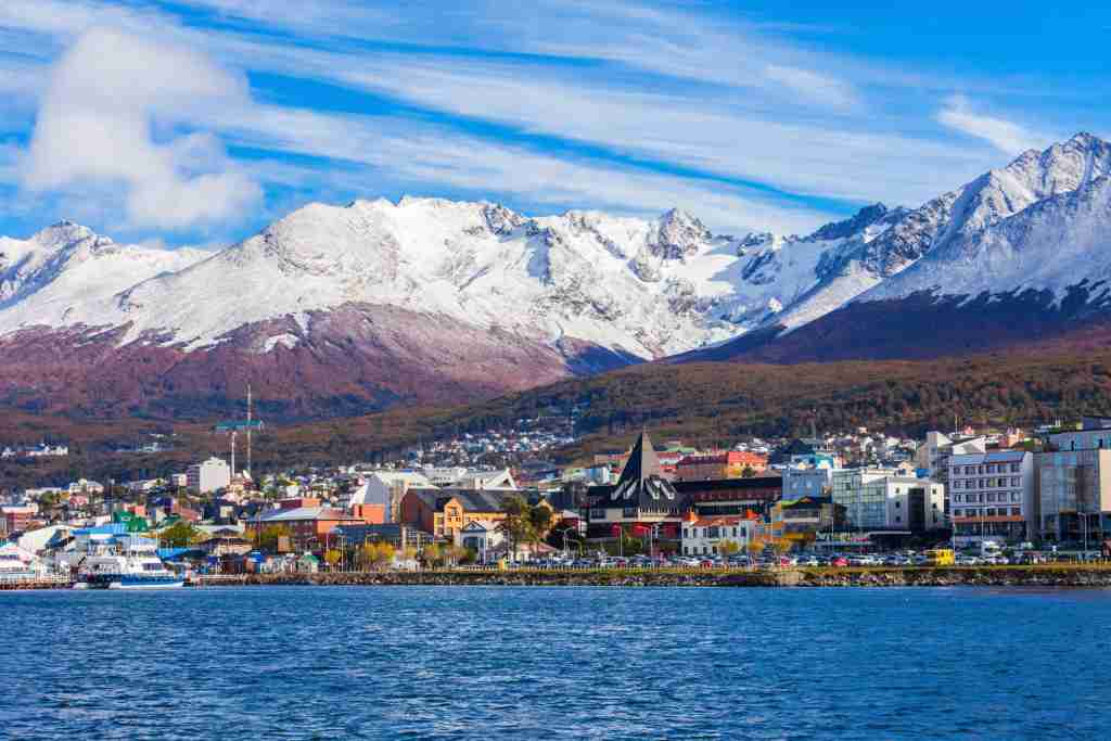 Ushuaia is the capital of Tierra del Fuego province in Argentina. Image by