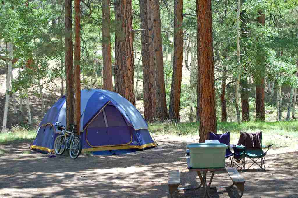 North Rim Campground Grand Canyon