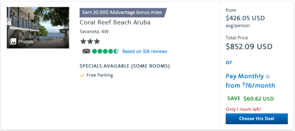 Coral Beach Aruba