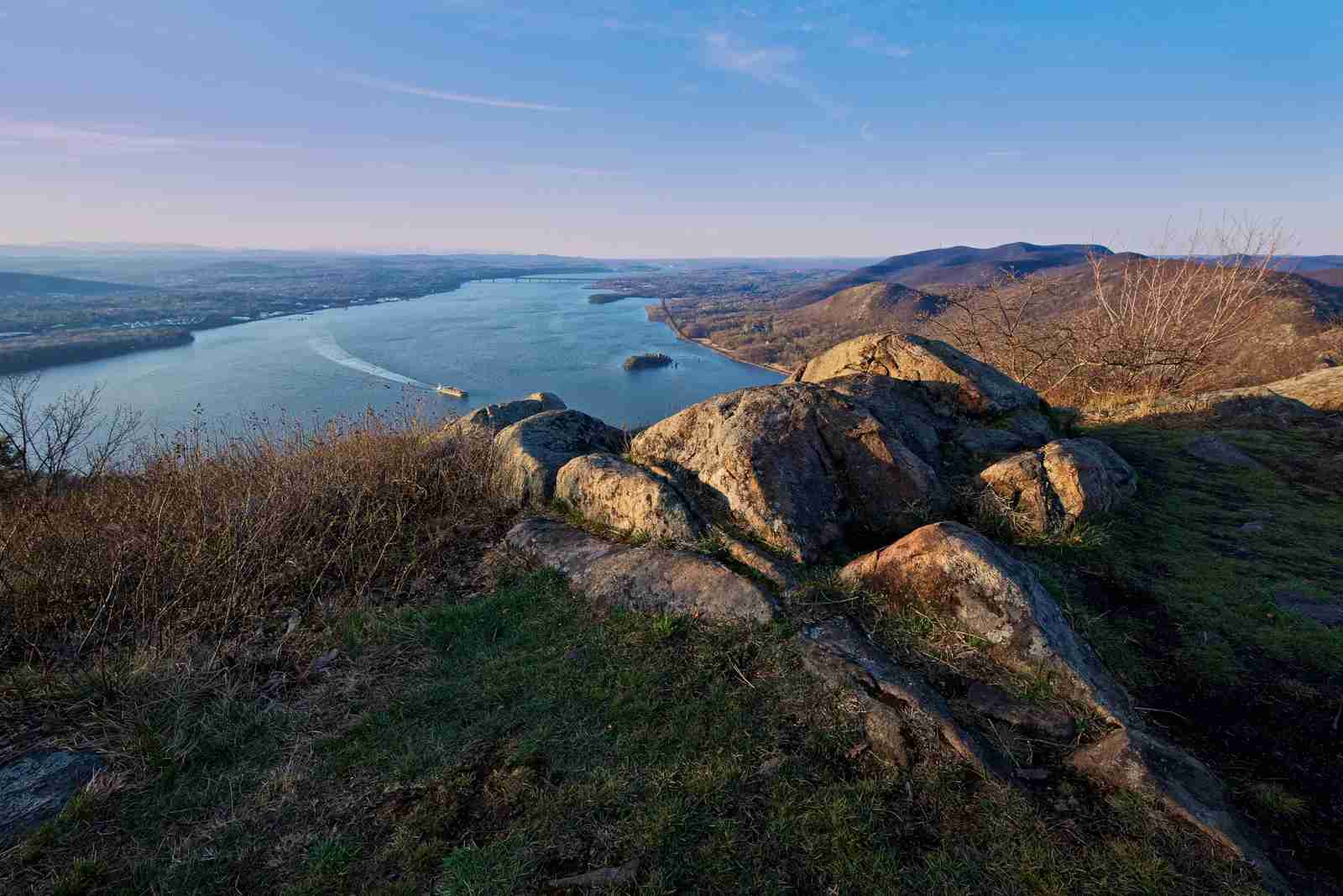 Storm King Mountain over Cornwall-on-Hudson. (Photo by Michael Neil ODonnel/Getty Images)