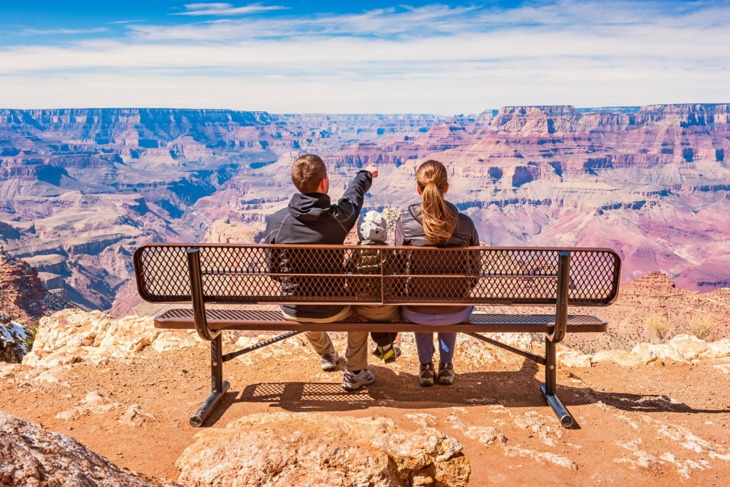 Camping In The Grand Canyon With A Family