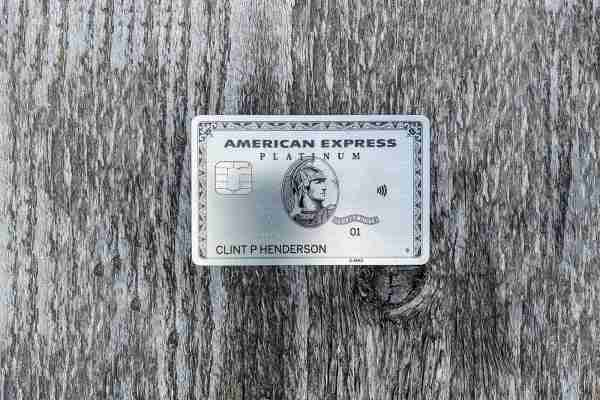 American Express Platinum card. (Photo by Clint Henderson/The Points Guy)