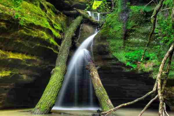 Starved Rock State Park Illinois. (Photo by Matthew Crowley Photography/Getty Images)