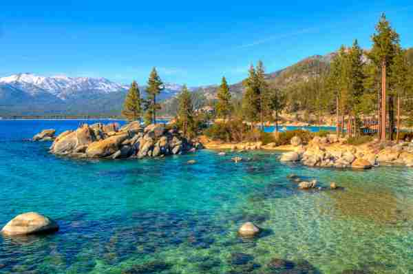 Sand Harbor State Park in Lake Tahoe. (Photo by www.35mmNegative.com/Getty Images)