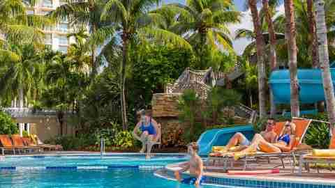 Hyatt Regency Coconut Point pool - Florida