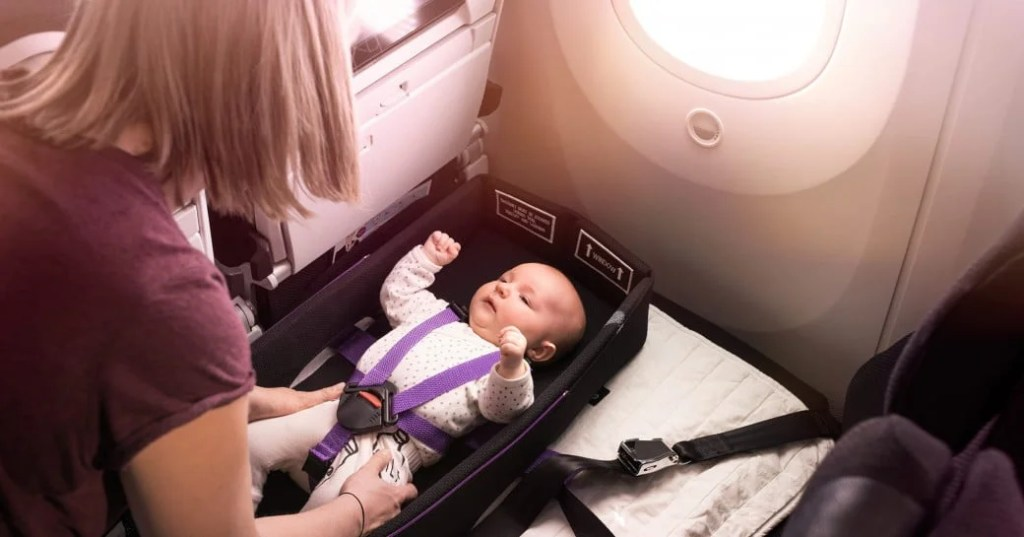 SkyCouch Infant Pod (photo courtesy of Air New Zealand)