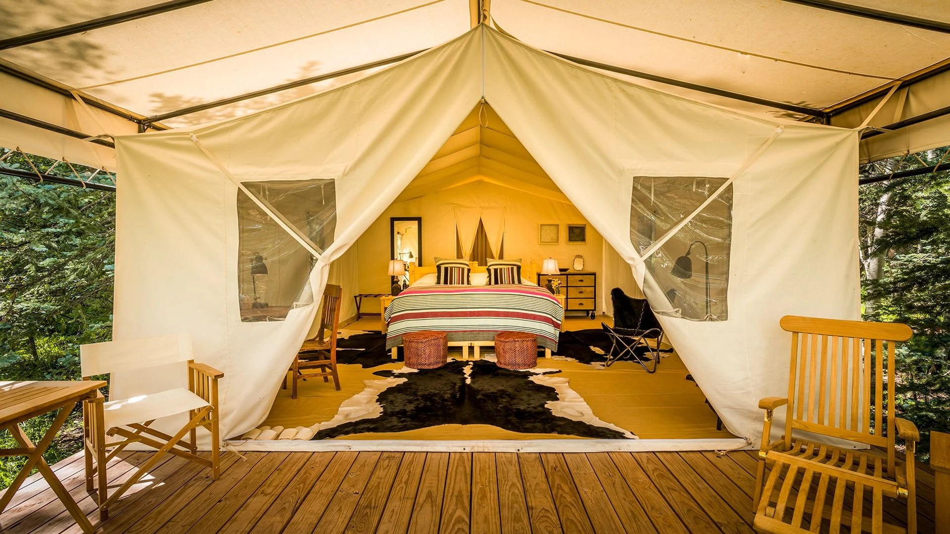 The best glamping spots in the US