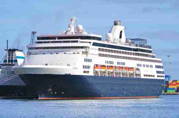 The Holland America ship Maasdam. (Photo by Tamme/Adobe Stock)