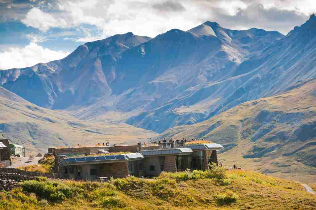 The Eielson Visitor Center at Denali National Park is tentatively scheduled to reopen on July 1. (Photo by Michael DeYoung courtesy of Travel Alaska)