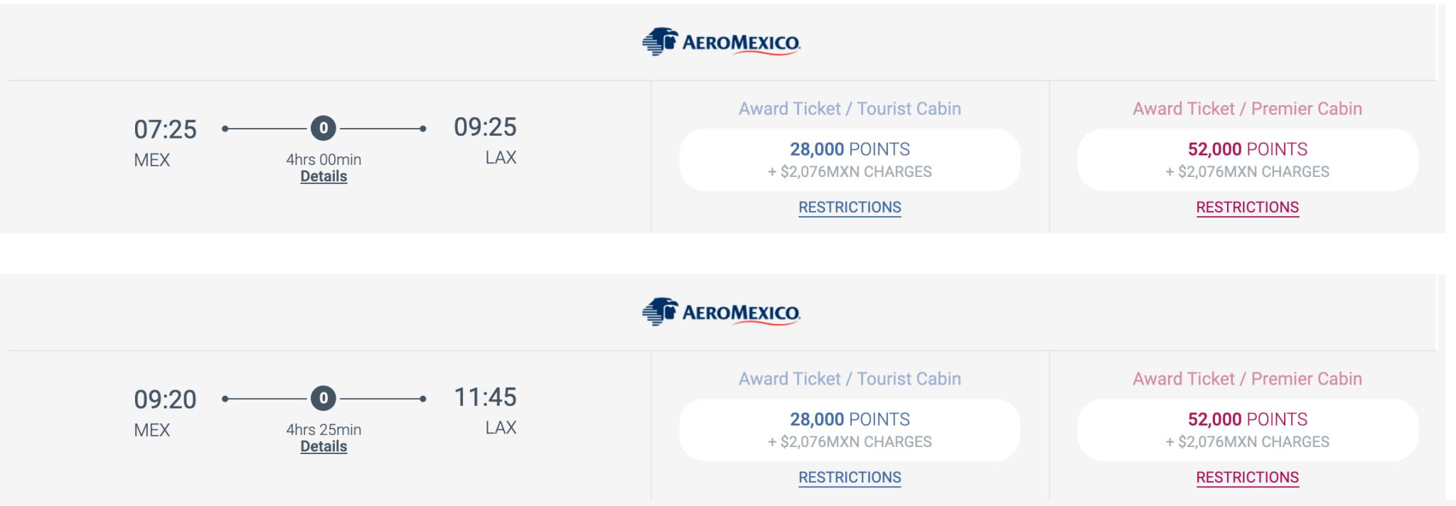 Photo courtesy of Aeromexico