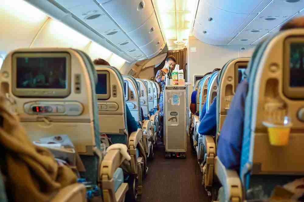 Singapore Airlines Economy Seating