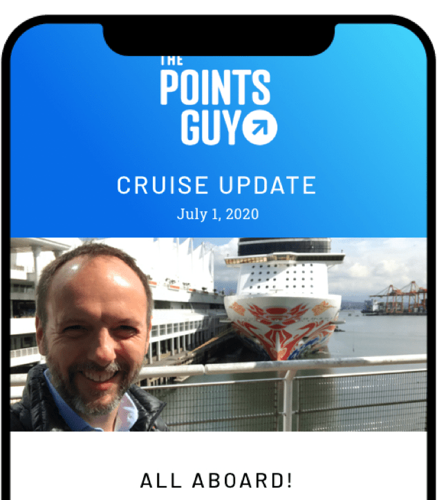 TPG Cruise Newsletter - Sign Up Today - The Points Guy