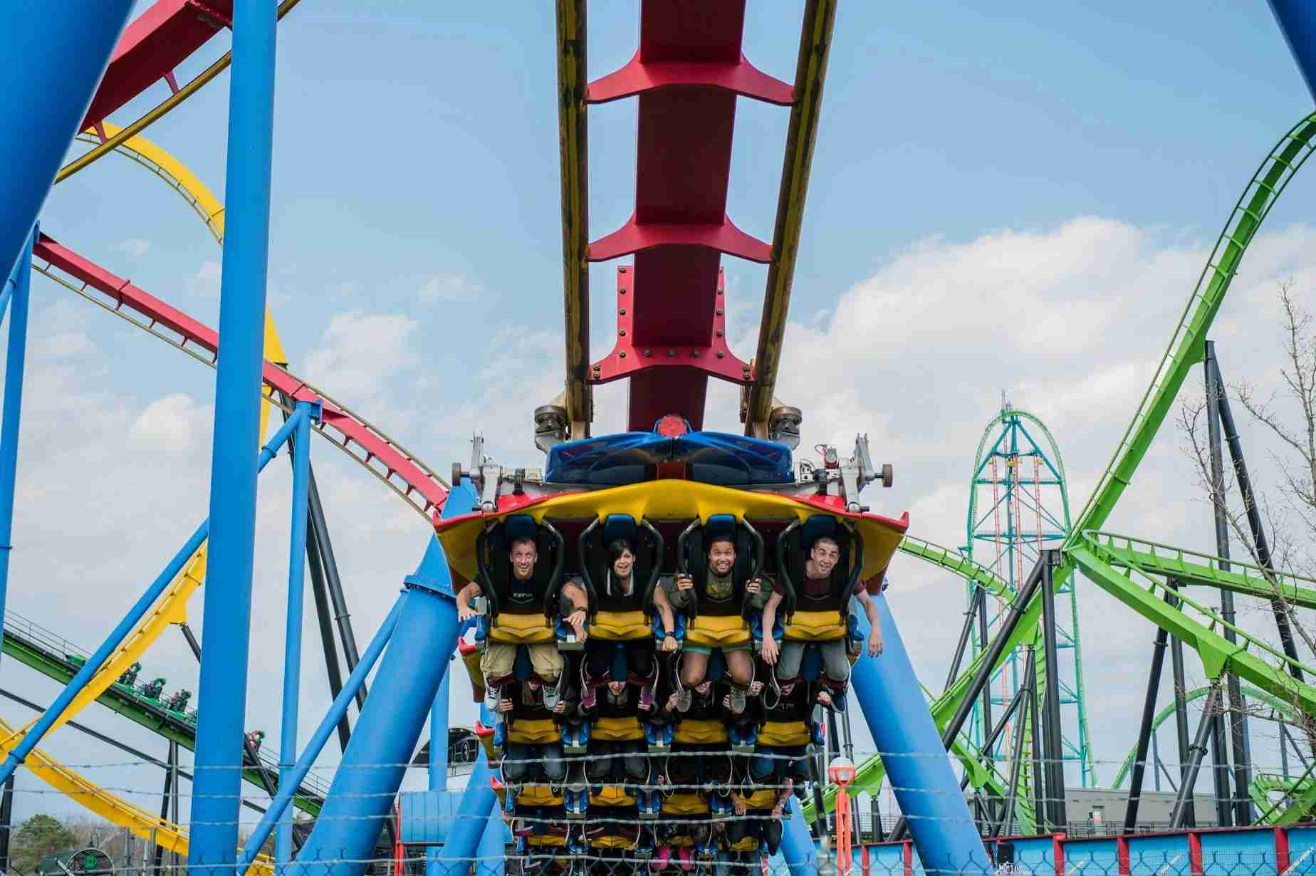 There are tons of thrill rides at Six Flags Great Adventure (Photo courtesy of Six Flags via Facebook)
