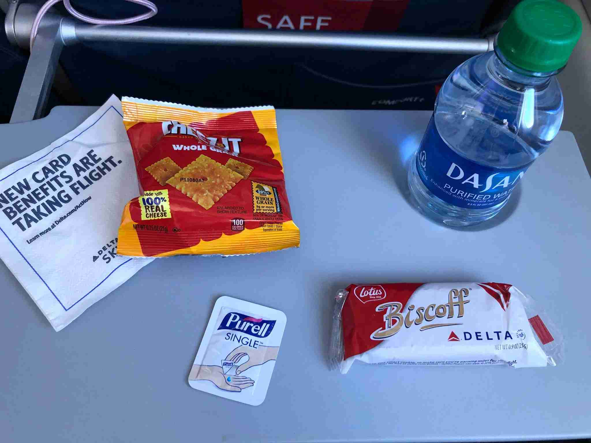 Delta service items during COVID-19 / Laura Motta / The Points Guy