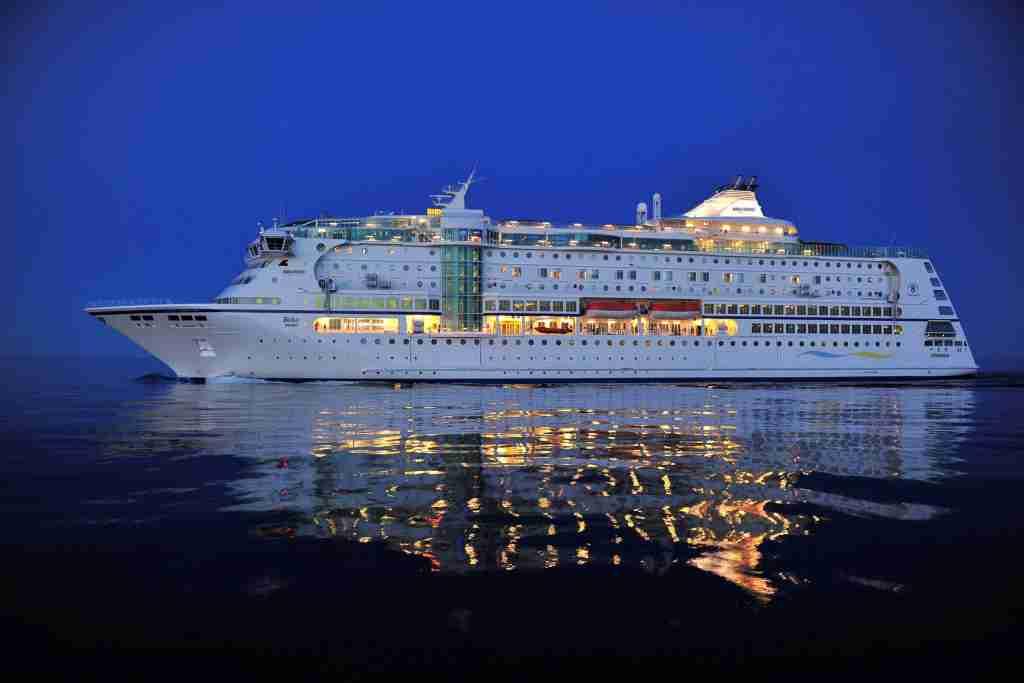 The 1,430-passenger Birka Stockholm. (Photo courtesy of Birka Cruises)