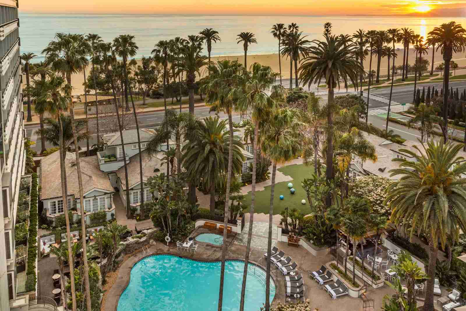 The Fairmont Miramar Hotel and Bungalows, Santa Monica. (Photo courtesy of Fairmont Hotels/Facebook)