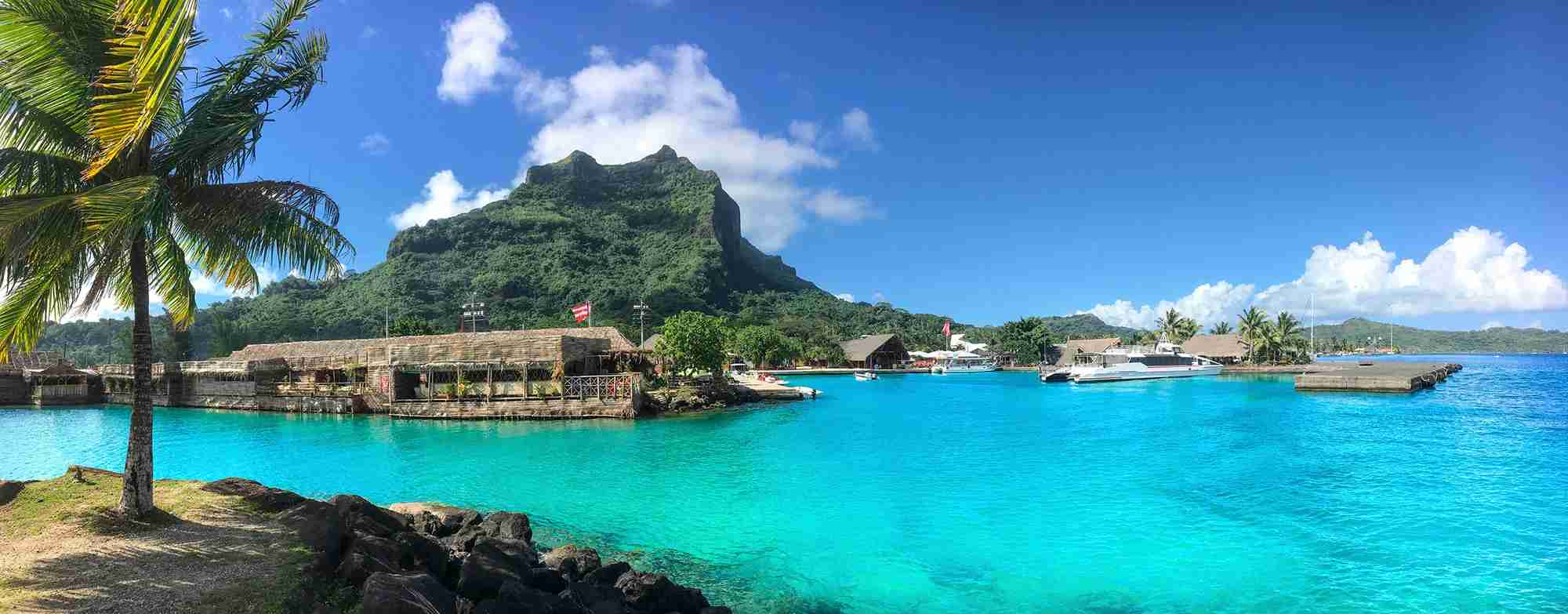 Bora Bora - Vaitape Harbor