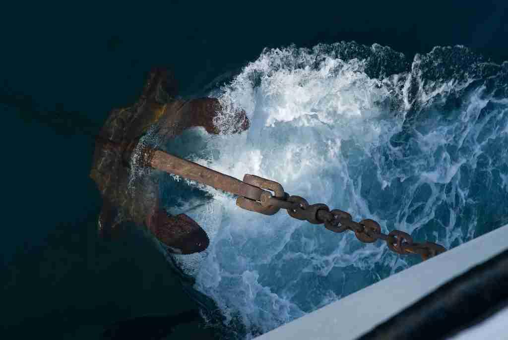 cruise ship anchor