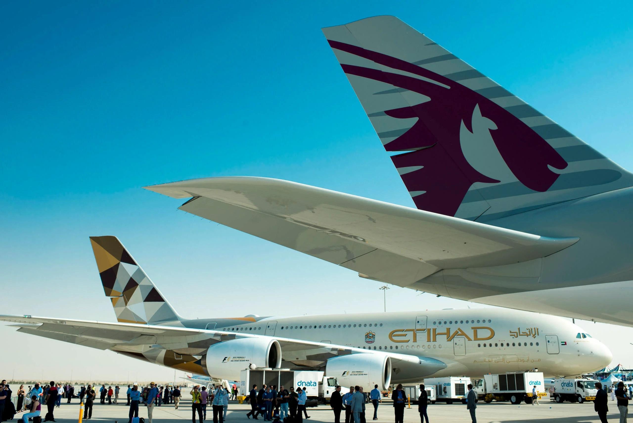 Comparing Emirates, Etihad, Qatar experiences during the pandemic