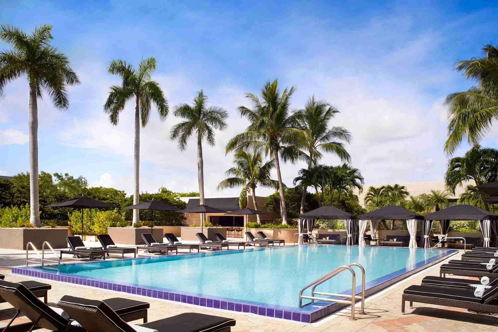 Ritz Carlton Coconut Grove. Photo courtesy of the hotel