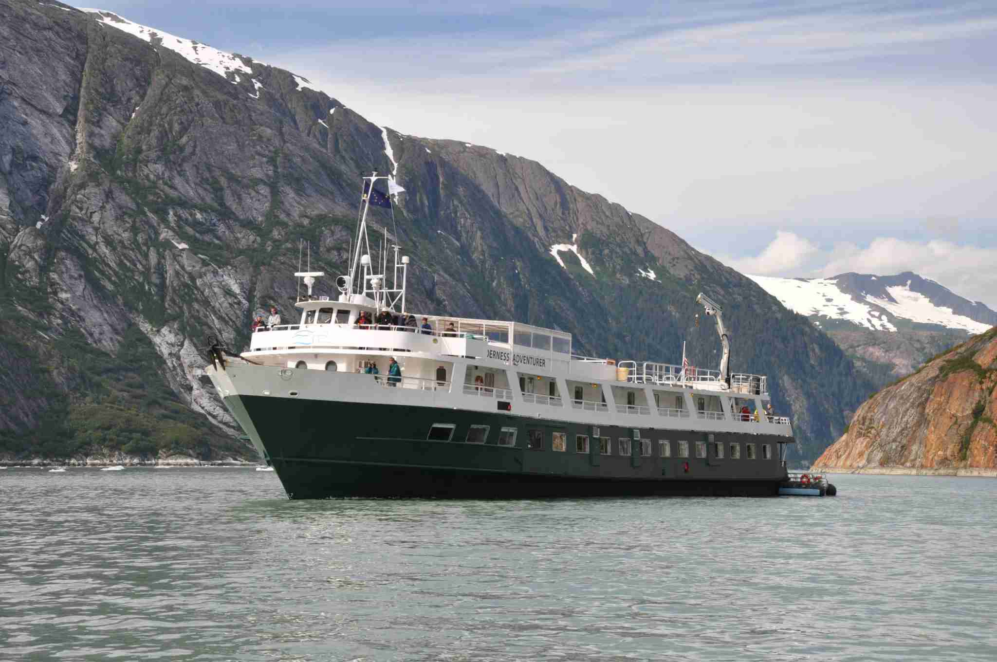 UnCruise Adventures operates adventure-focused trips in Alaska on small vessels such as the Wilderness Adventurer. (Photo courtesy of UnCruise Adventures)