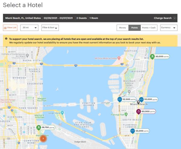 IHG booking process map