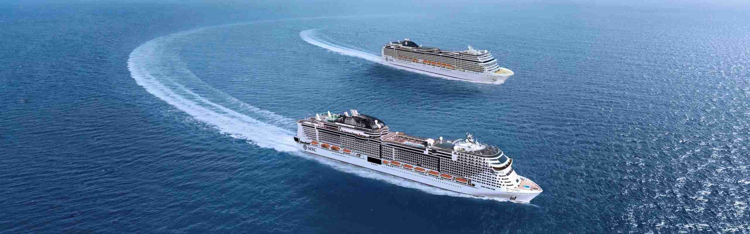 MSC Bellissima and MSC Magnifica