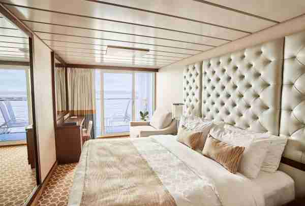 Princess Cruises balcony cabin