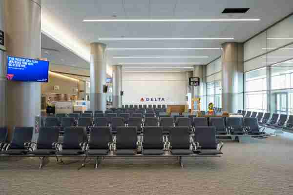 The new terminal features expanded gate areas for travelers. (Image courtesy of Salt Lake City International Airport)