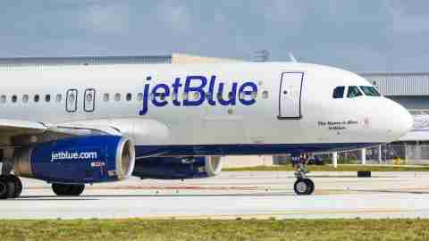 JetBlue Plane at FLL Airport