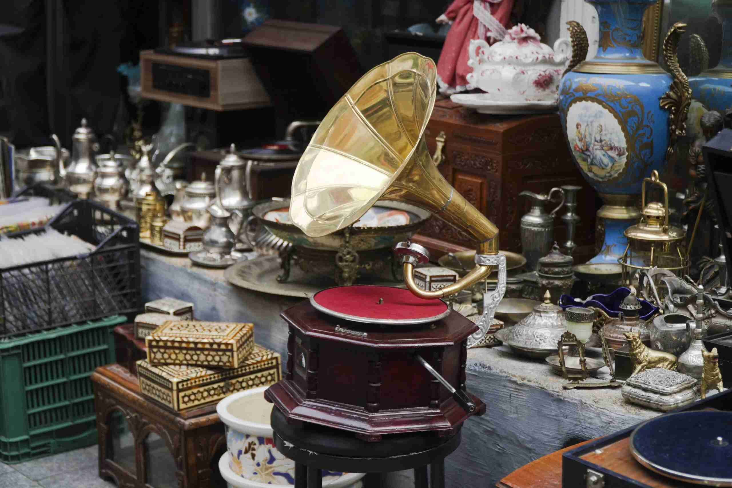 Round Top, TX, is known for its antiques and other vintage collectibles. Photo by Engin Sezer/Shutterstock.