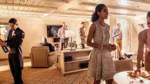 Silversea Grand Suite butler