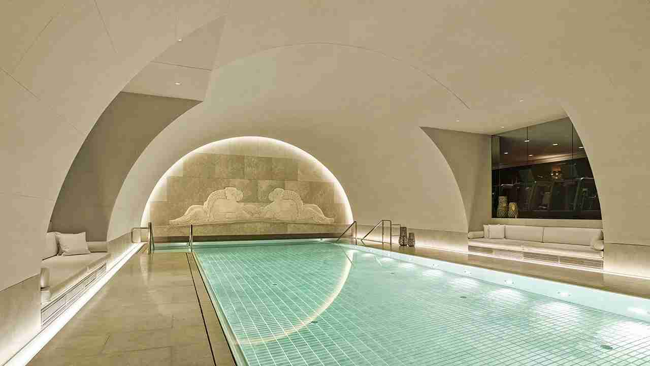 The pool at the Park Hyatt Vienna. (Photo courtesy of Arany Spa)