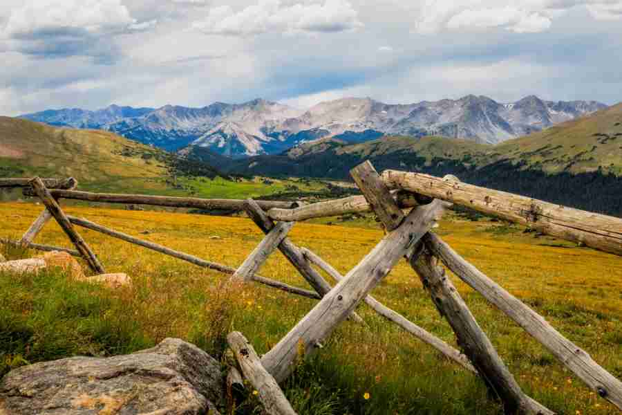 Rocky Mountains National Park in Colorado - Courtesy of Shutterstock