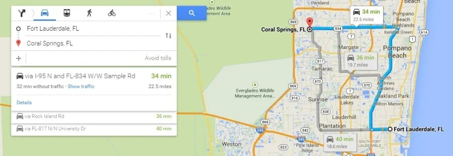 Toll Roads Map Florida.How To Avoid Excess Toll Road Charges For Rental Cars