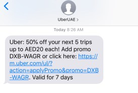 uber dubai coupon uae
