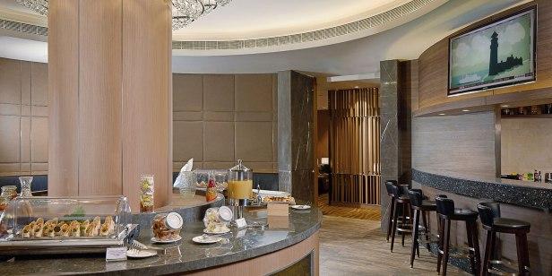 al dhabi airport lounge auh terminal 1 food buffet review