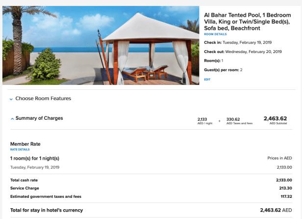ritz carlton al hamra beach ras al khaimah uae marriott bonvoy price