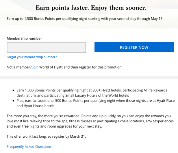 world of hyatt bonus points promotion offer 2019 dubai uae