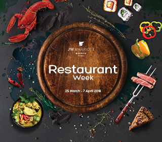 jw marriott restaurant week dubai uae