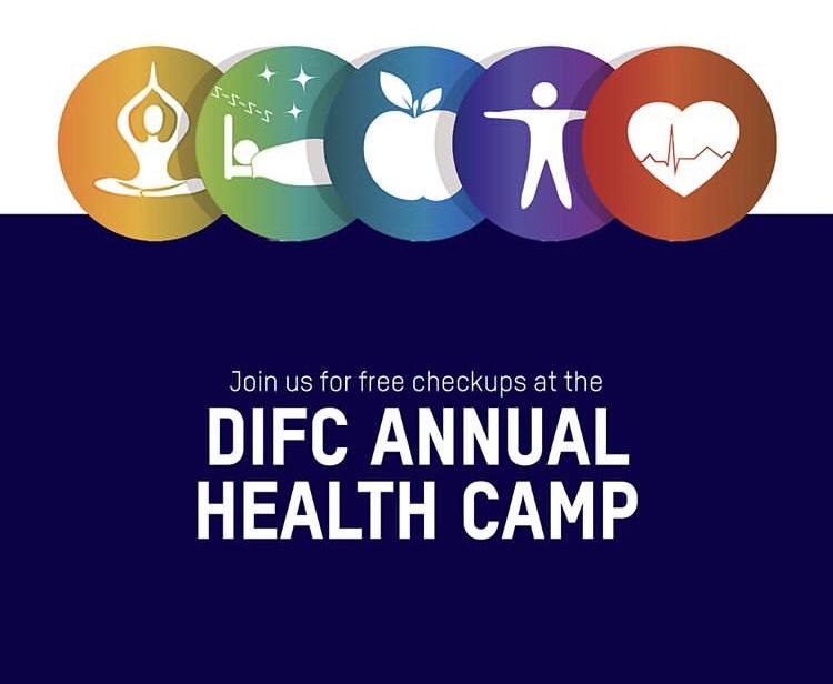 difc health camp dubai international finance centre UAE 2019