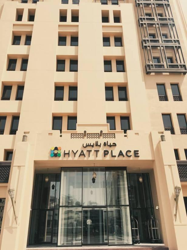 world of hyatt dubai