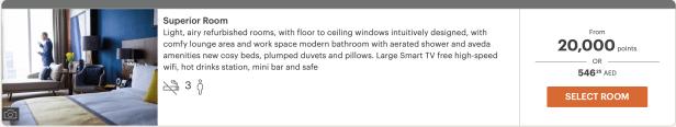 voco dubai hotel standard room review ing uae