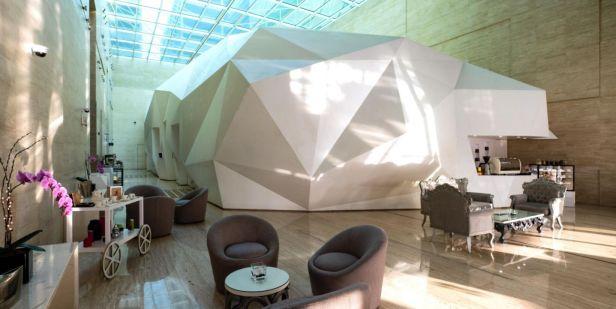 Origami Cafe review dubai ihg uae