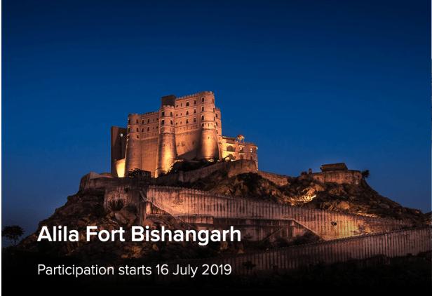alila hotels world of hyatt points fort bishangarh india